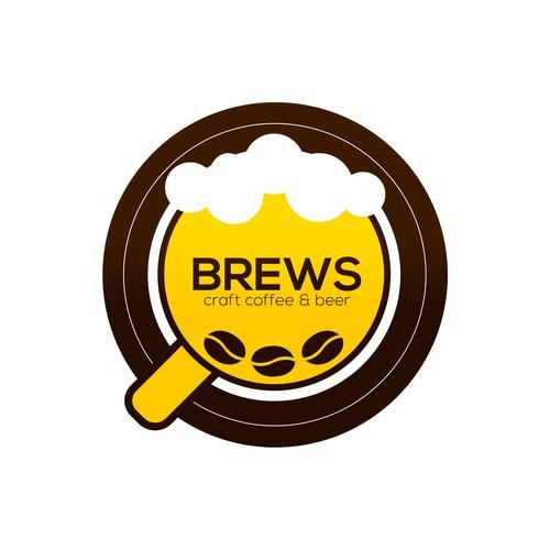 """Brews"" Logo"