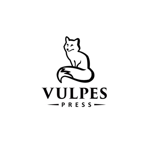 Create a classic publishing logo for Vulpes Press