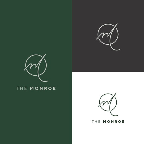 Minimalist logotype for residential