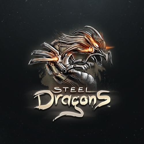 Steel Dragons Game Logo