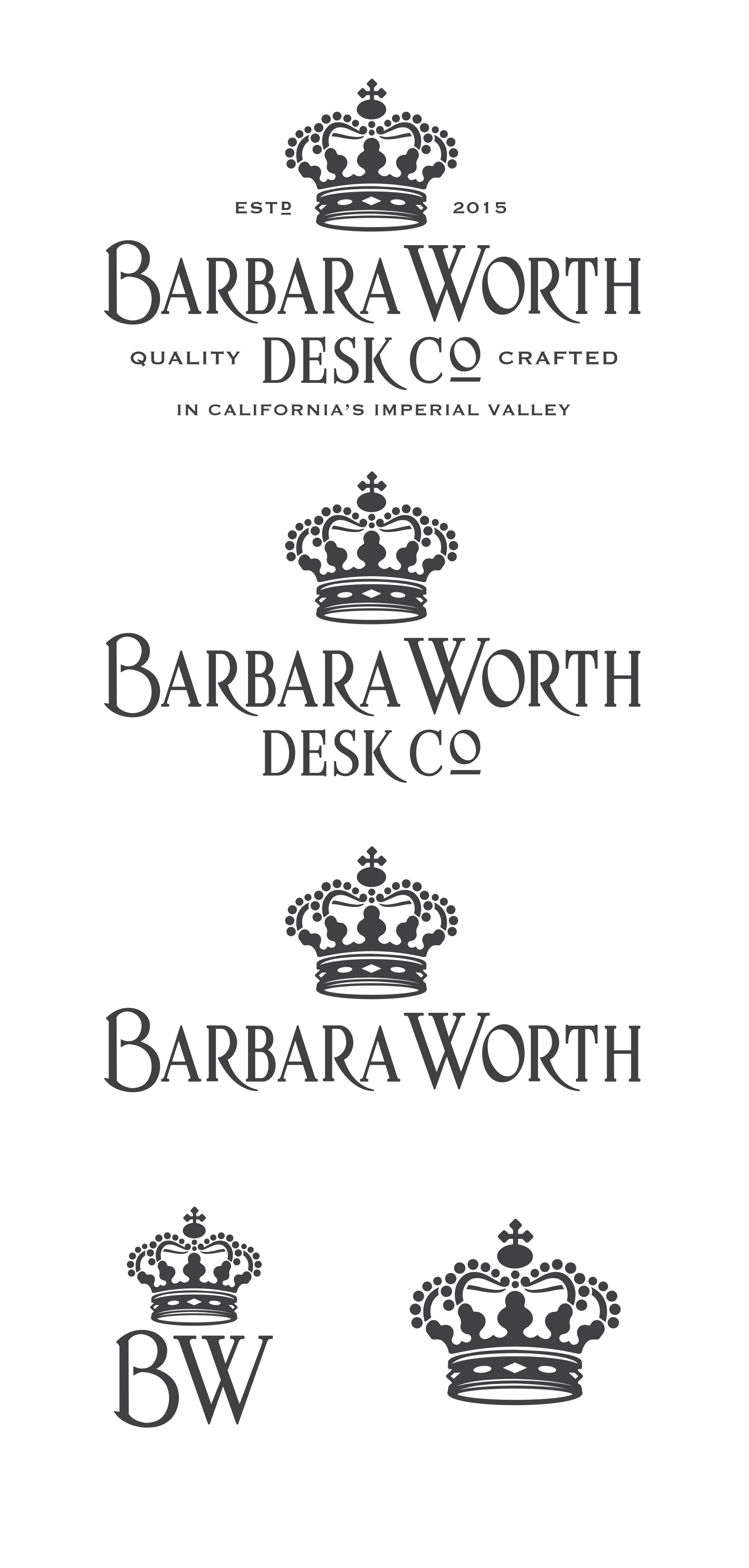 Barbara Worth Desk. Co. -- Easy pickup for a great designer.