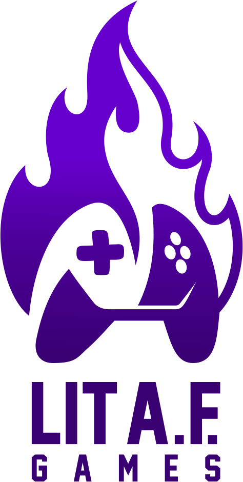 Design an awesome logo for Lit A.F. Games