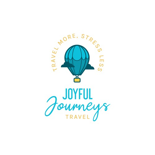 A logo for a travel company that specialises in theme park travel packages