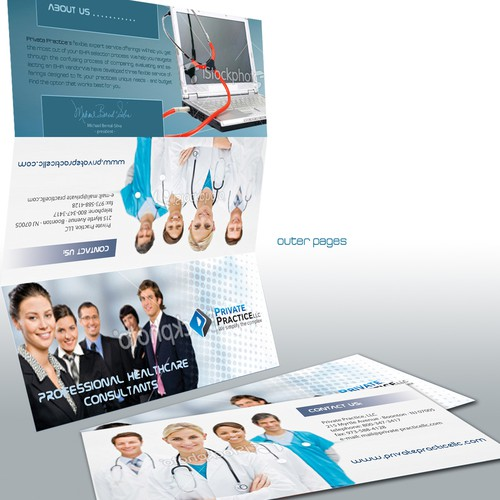 Brochure desihn for Private Practice LLC