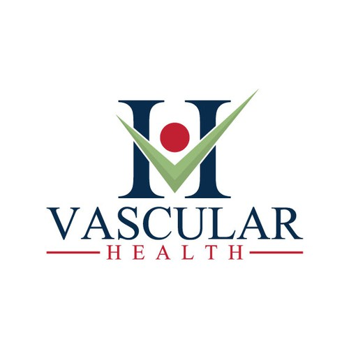 Creat a strong classic illustration logo for Vascular Health