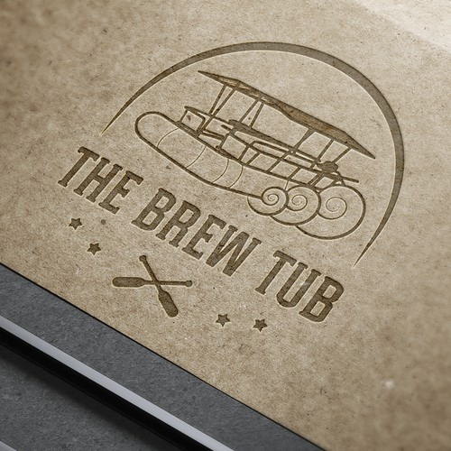 The brew tub logo