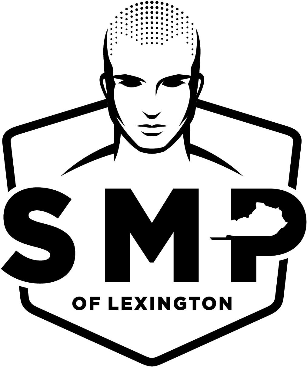 Bald Head + Dots (Logo)