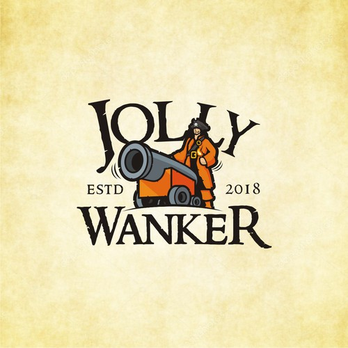 Jolly Wanker needs a flag for his sailboat!