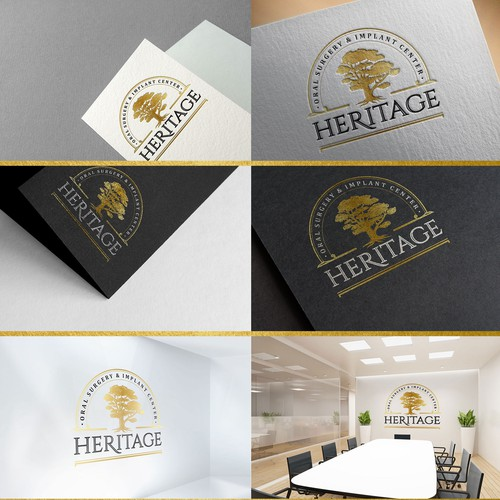 Logo for Heritage Oral Surgery & Implant Center