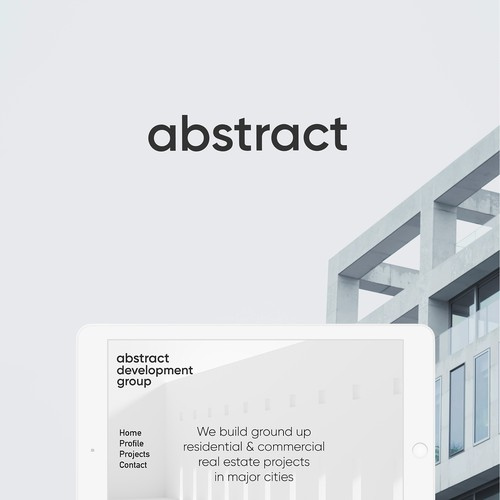 Abstract brand identity