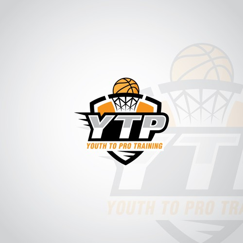 logo for new basketball training business.