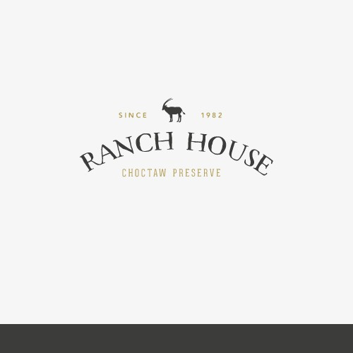 Create a cattle brand type logo for a fine dining restaurant