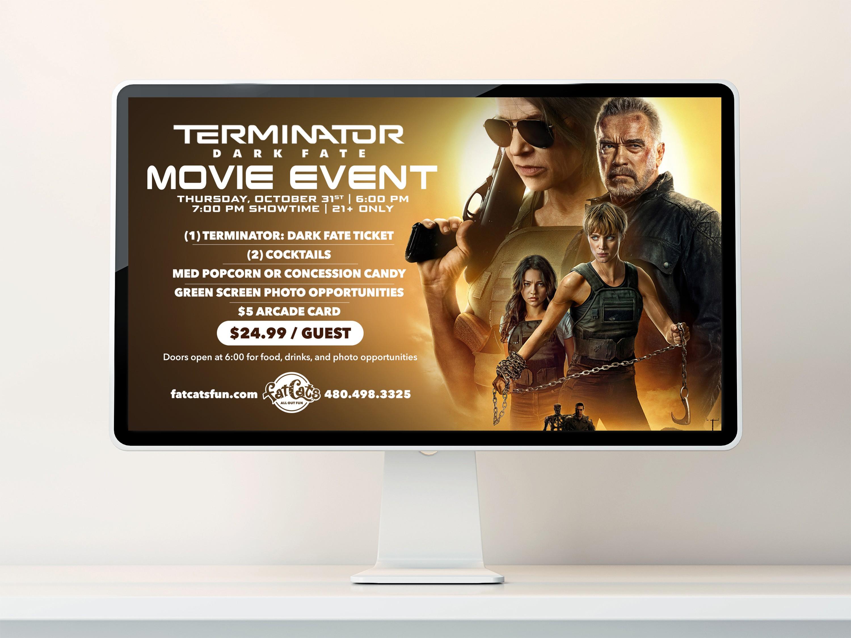 Terminator Dark Fate Movie Event Poster