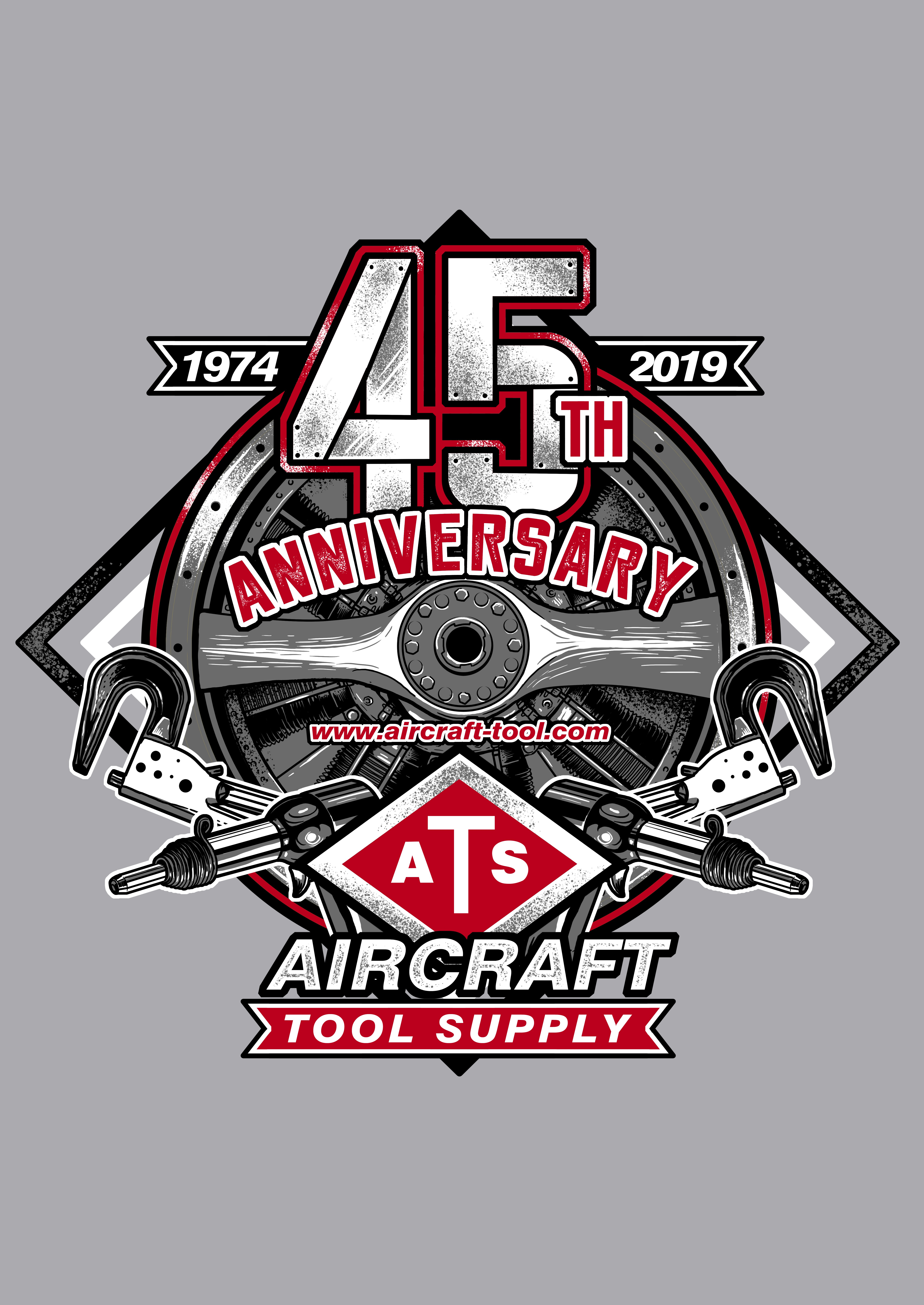 Create an Aviation Mechanic inspired T-shirt for Aircraft Tool Supply!