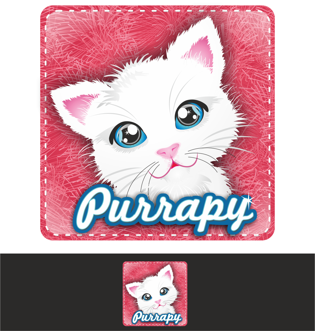 New logo wanted for Purrapy mobile app