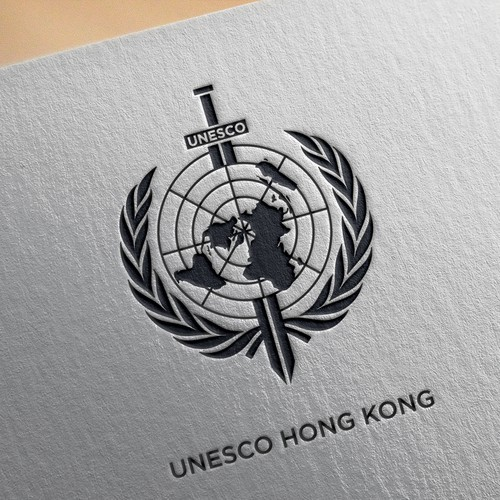 UNESCO HONG KONG Logo MockUp