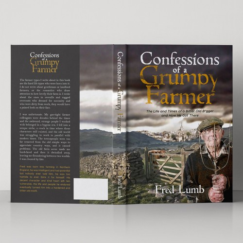 Book cover design for Confessions Of A Grumpy Farmer