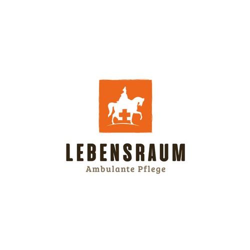 Lebensraum logo concept