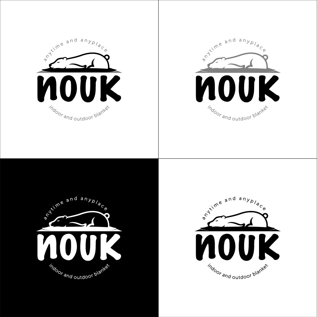 In- and outdoor plankets - design the Logo NOUK