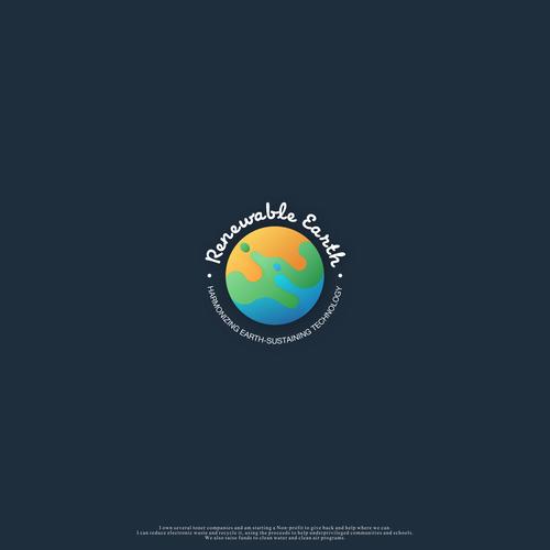 earth concept logo