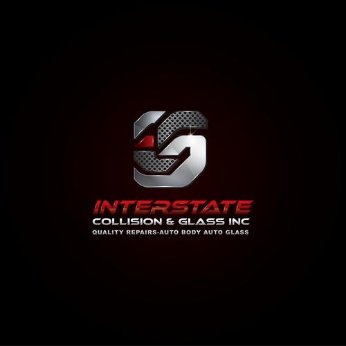 Gloss, Reflection, 3-D Specialist -  automotive shop logo