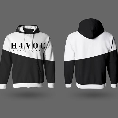 Conception d'un Sweat pour l'équipe H4VOC