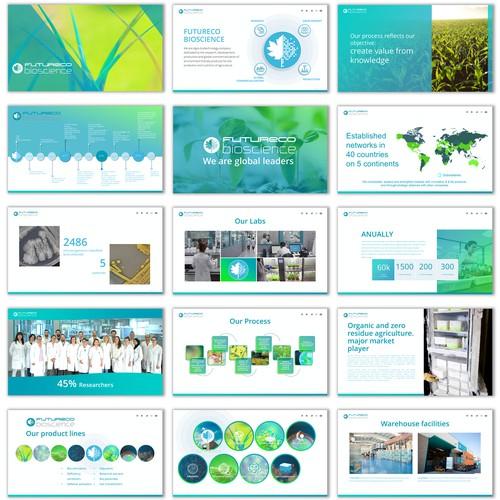 Presentation for biological services
