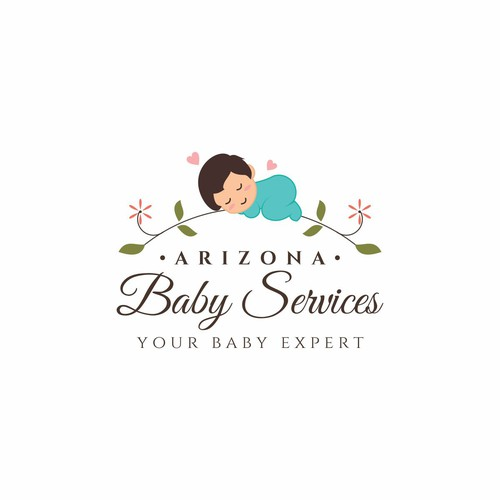 Warm and friendly design for Arizona Baby Services