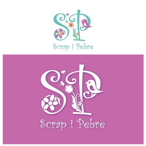 New logo for Scrap i Pebre
