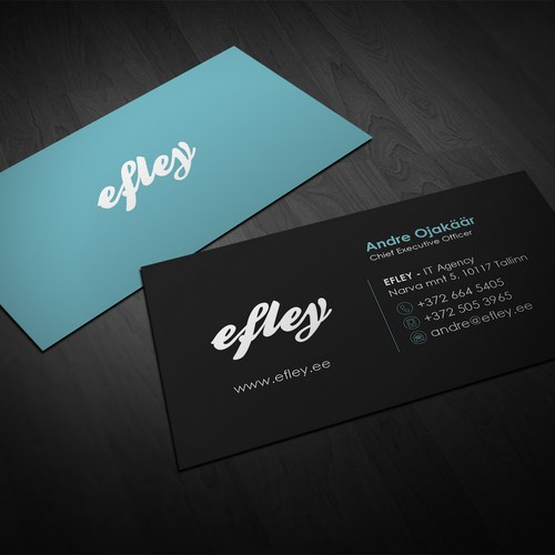 Minimal & Modern Business Cards (new web design psd included)