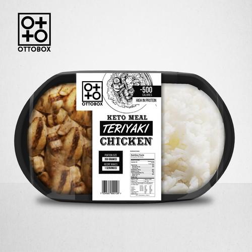 Clean eating vending machine Label