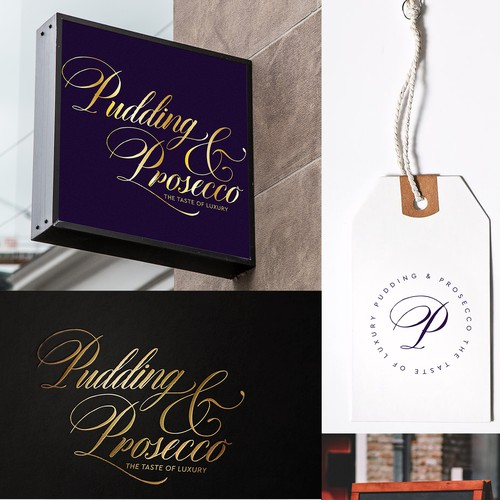 Logo for Pudding & Prosecco