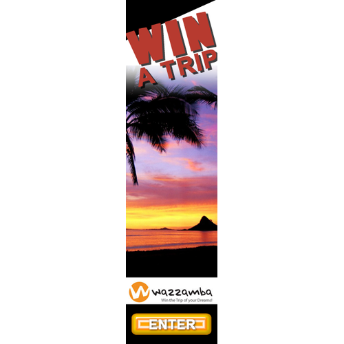 Banner Ads for a new amazing gaming platform - Wazzamba!