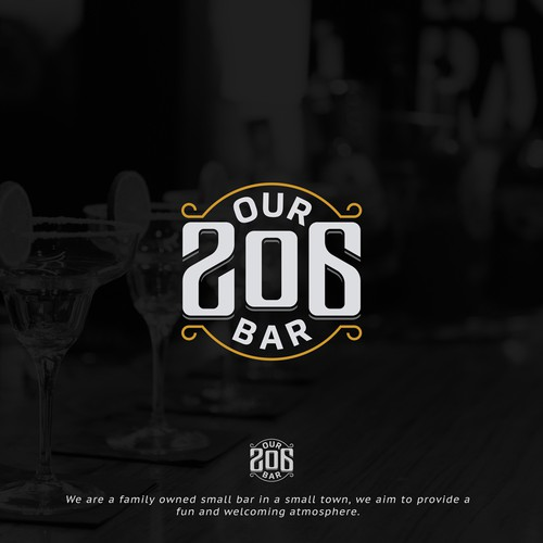 Logo concept for our206bar