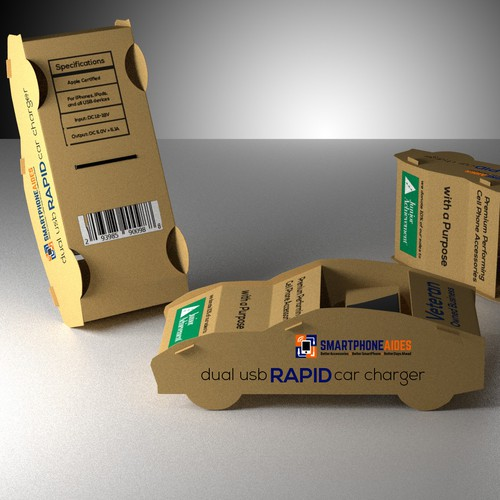 """WANTED!:THE Coolest Car Charger Packaging Design EVER - """"DIFFERENCE MAKERS"""" ONLY APPLY"""