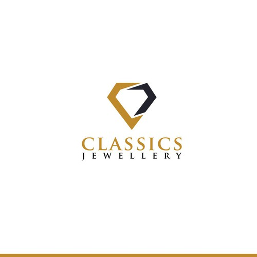 logo concept for classic jewellery