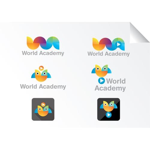 Visual identity for online education platform