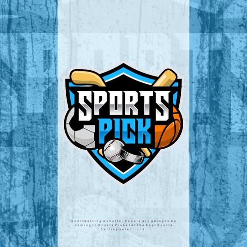 sports pick logo