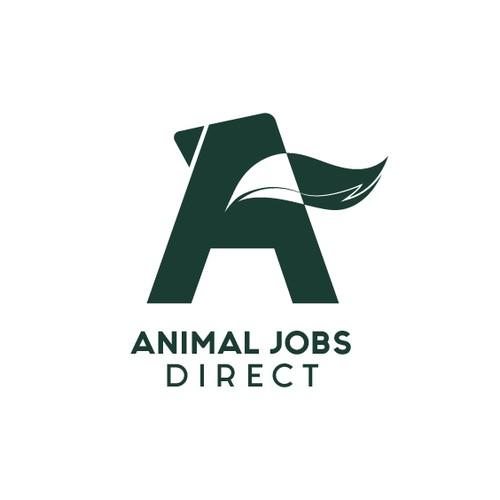 Logo concept for Animal Jobs Direct