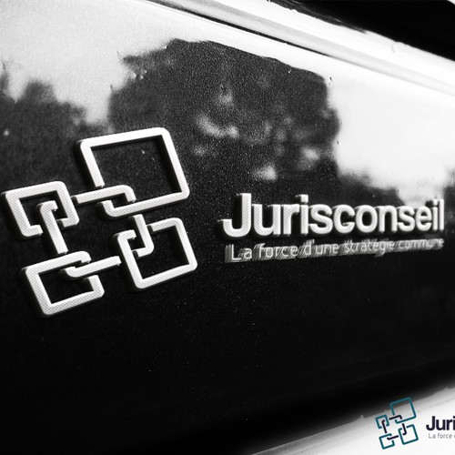 Create a professional image for Jurisconseil a network of Law offices