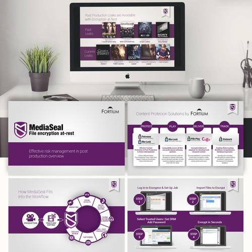 Powepoint Design for MediaSeal