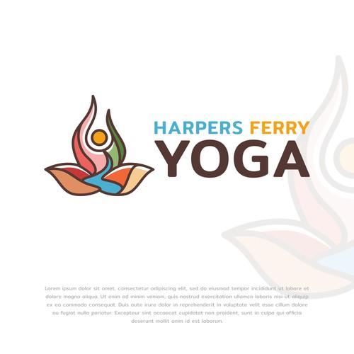 Harpers Ferry Yoga Logo