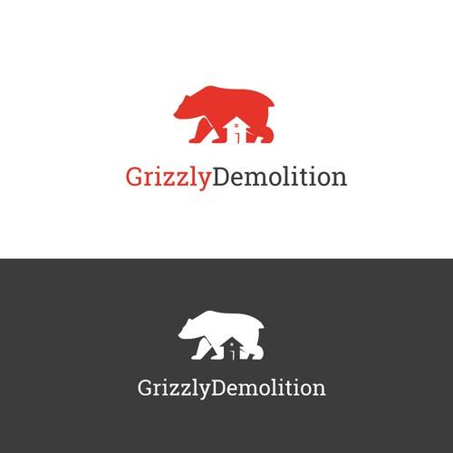 Logo for a Demolition business