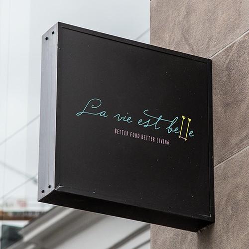 Logo for La vie est belle