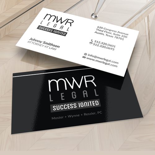 Design Modern Business Card and Letterhead for Entrepreneurial Law Firm