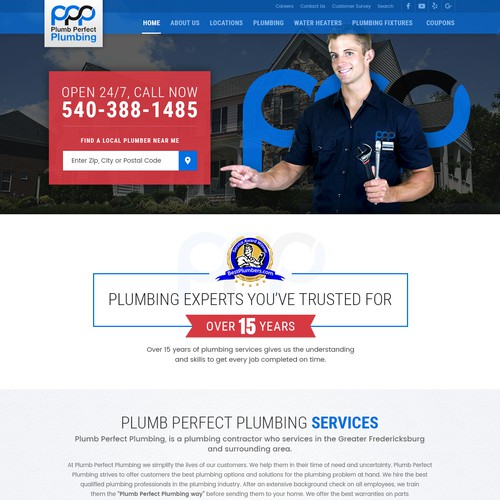 Website for Plumbing Business