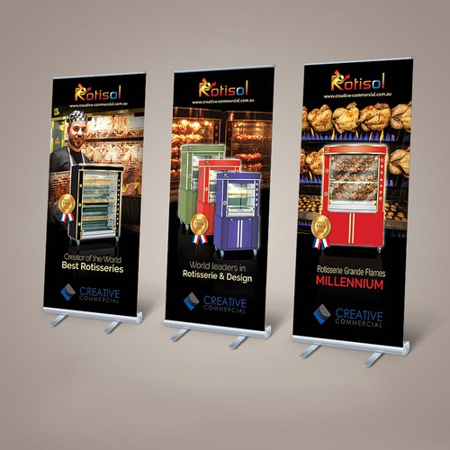 Rotisol Banners