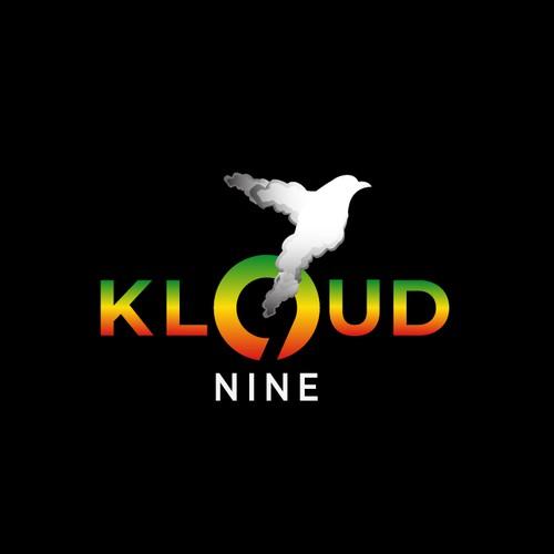 Bold logo for kloud nine