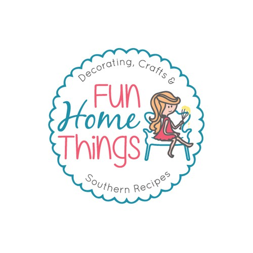 Funny and playful logo for DIY website