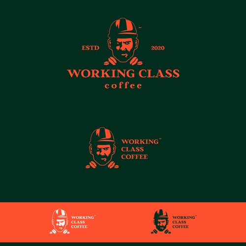 Original Logo Concept for Working Class Coffee